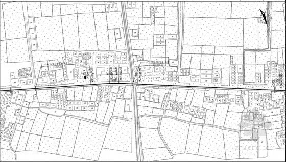 9m宽二级公路改建工程全套施工图(184页 道路 交通工程 附施组设计)