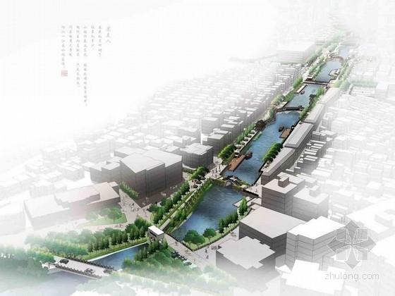 [广东]江南风情滨水空间景观规划设计方案