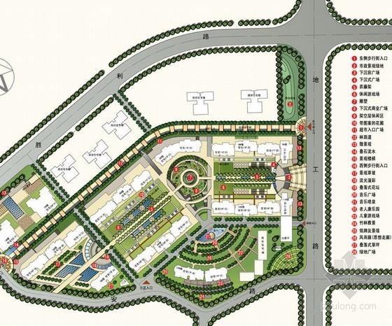 辽宁居住区广场方案设计