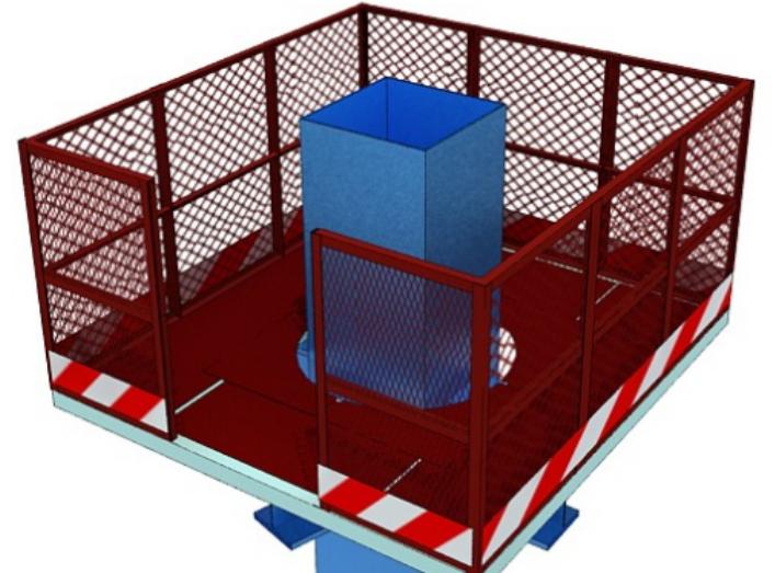 甘肃文化艺术中心场馆钢结构安全专项方案(四层钢框架支撑+钢砼框剪结构)
