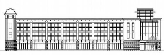 [慈溪市]某纺织器材厂框架结构职工食堂建筑结构施工图