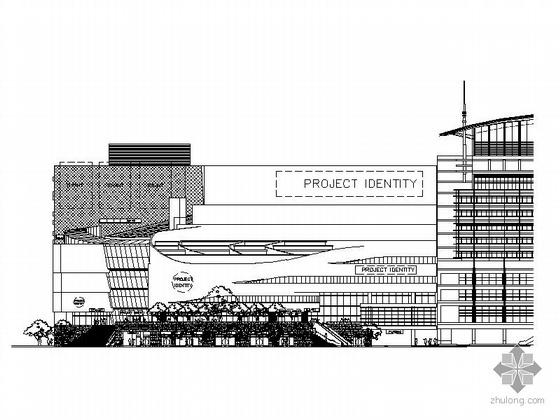[上海徐汇]某城市广场九层商业购物中心建筑施工图