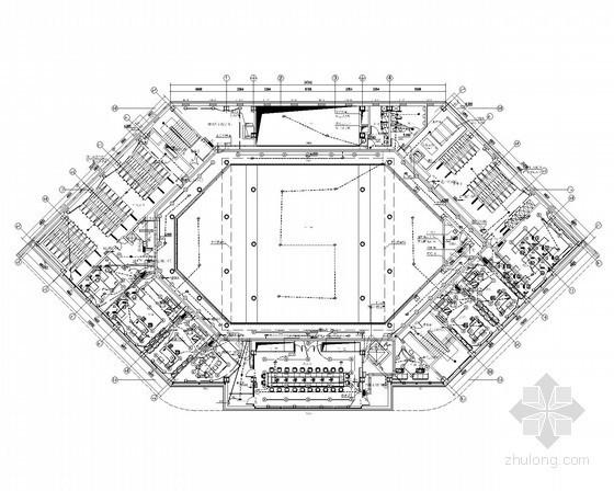 [天津]生态城公屋展示中心全套电气施工图纸49张