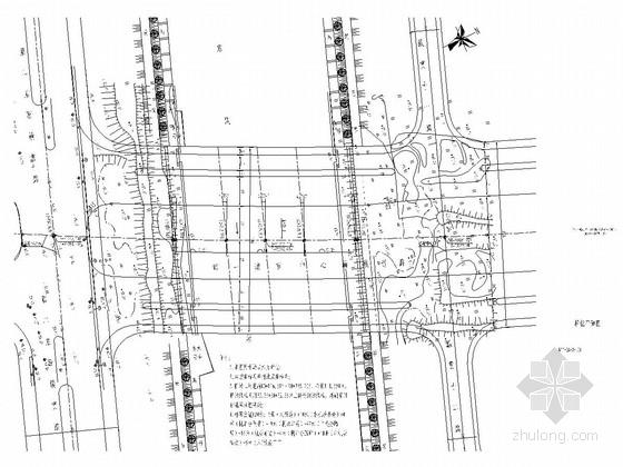 三跨连续梁桥施工图设计63张CAD
