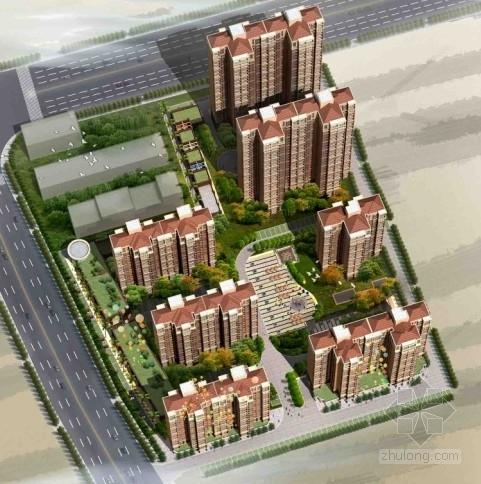 [湖南]长沙某塔式住宅小区建筑设计方案文本
