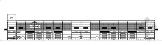 中国某大型国际物流仓库建筑施工图