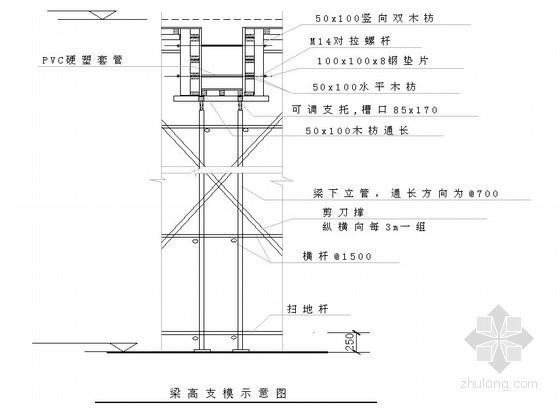 [四川]钢结构工程模板施工专项方案(胶合板)