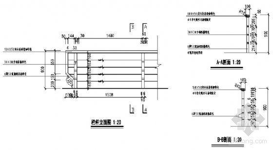 栏杆节点详图-4