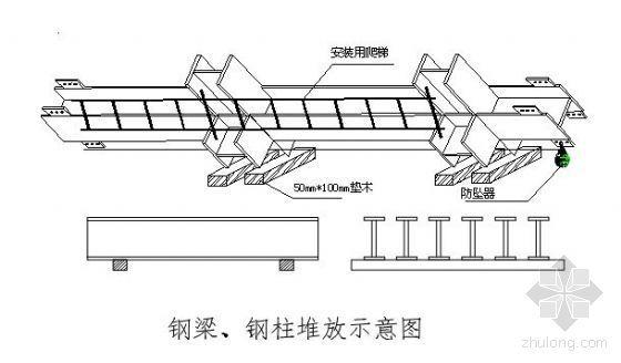 石家庄某商城钢结构施工方案