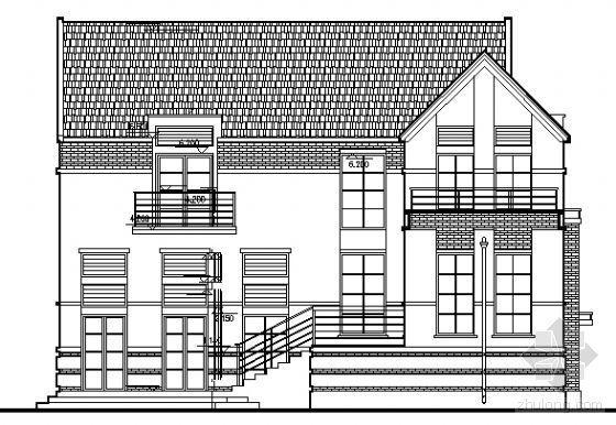 某二层独立别墅设计方案
