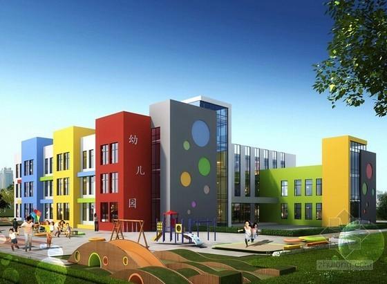 [山东]中心幼儿园项目建筑安装工程量清单计价实例(含施工图纸 控制价)