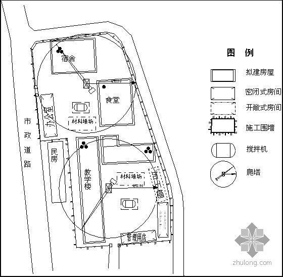 四川某小学灾后重建工程施工组织设计