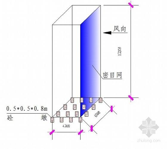 高压线防护架施工方案