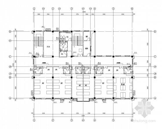 [安徽]社区医院给排水施工图(冷凝水)