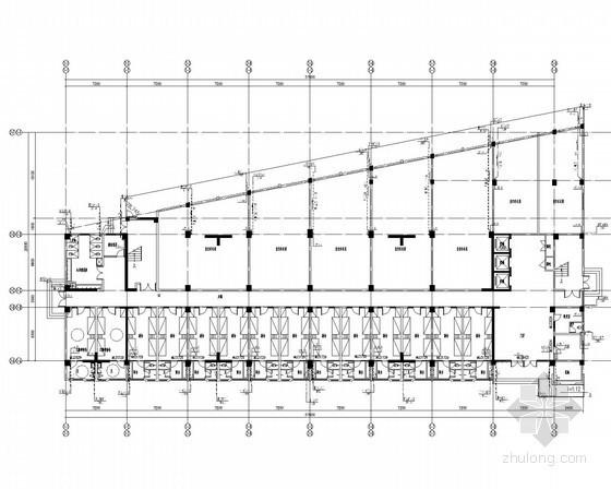 [安徽]技术学院宿舍食堂实训楼给排水消防施工全套图纸
