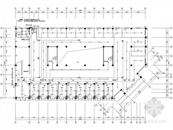 [安徽]住宅小区(含住宅、地下室、幼儿园、小学、菜场等)电气施工图