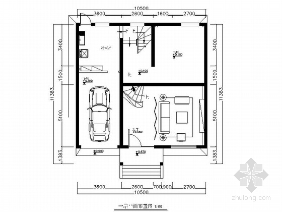 现代中式四层别墅装修设计图