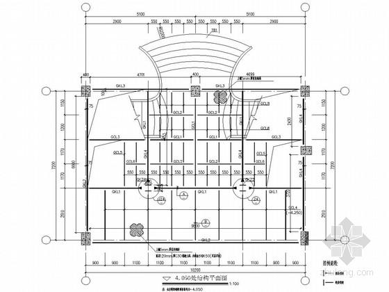 钢结构楼梯结构施工图