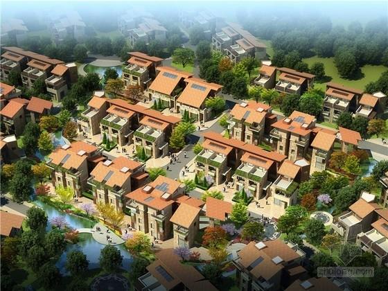 [立面改造]西班牙建筑风格别墅住宅小区立面改造方案文本