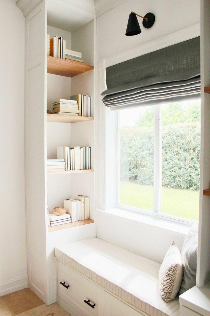 如何在家里挤出一间书房,这4种方案必须收藏!_15