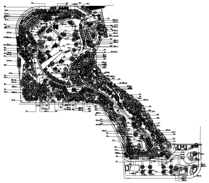 [湖南]生态高新技术产业谷社区公园五期景观设计全套施工图(2017最新)