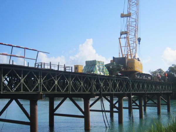 贝雷桁架结构钢栈桥施工方案技术总结149页(含3个实体工程案例)