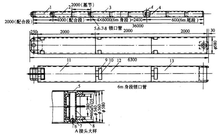 基坑支护结构施工培训讲义(word,共125页)-接头管(锁口管)
