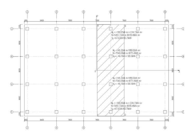 平板式筏板基础例题(PDF,10页)