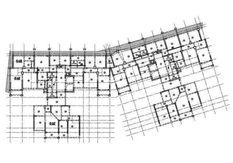 33层钢筋混凝土剪力墙住宅楼结构施工图(CAD、37张)