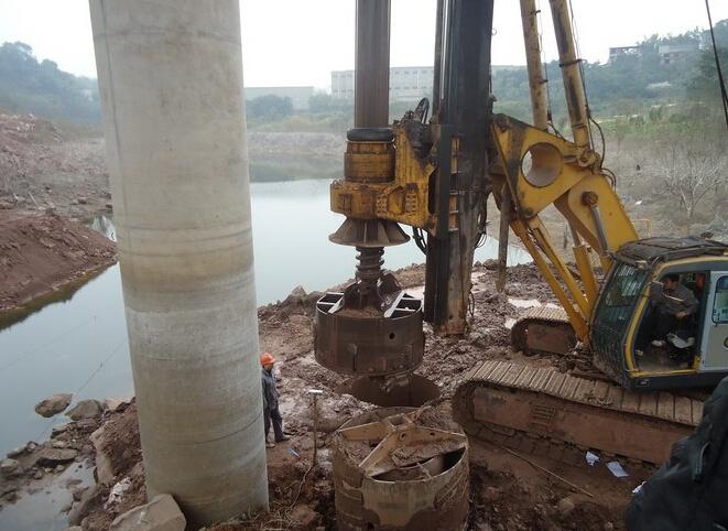 桥梁桩基采用旋挖钻施工成孔的施工实践
