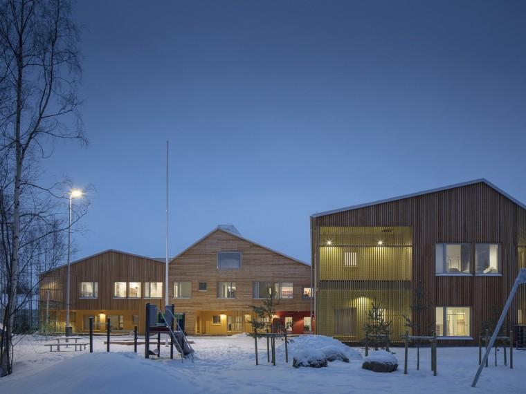 芬兰谷仓幼儿园