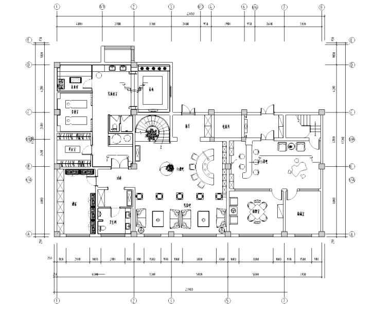 [内蒙古]鄂尔多斯某二层欧式古典豪宅施工图