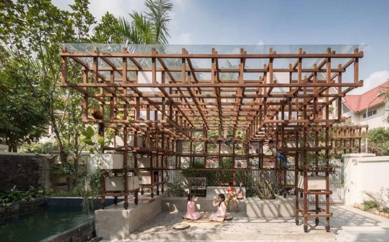 图书馆也养鸡种菜?一个建筑就是一个森林系统