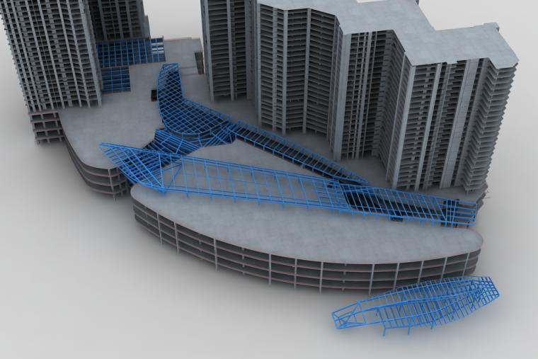 [广州]商住楼钢结构工程(附高清工艺流程示意图)