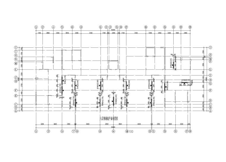 装配整体式剪力墙高层住宅楼结构施工图2016