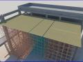 屋面钢结构网架高空散拼施工方案