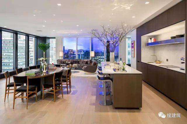 """万科200米高、61层的""""新地标住宅"""",1000-1600平方英尺的户型设_23"""