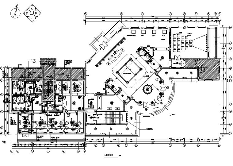 香溪美地售楼处及会所设计施工图(附效果图)