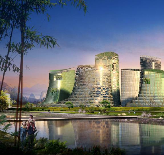 [广西]桂林临桂新区城市规划设计方案文本(生态,活力)