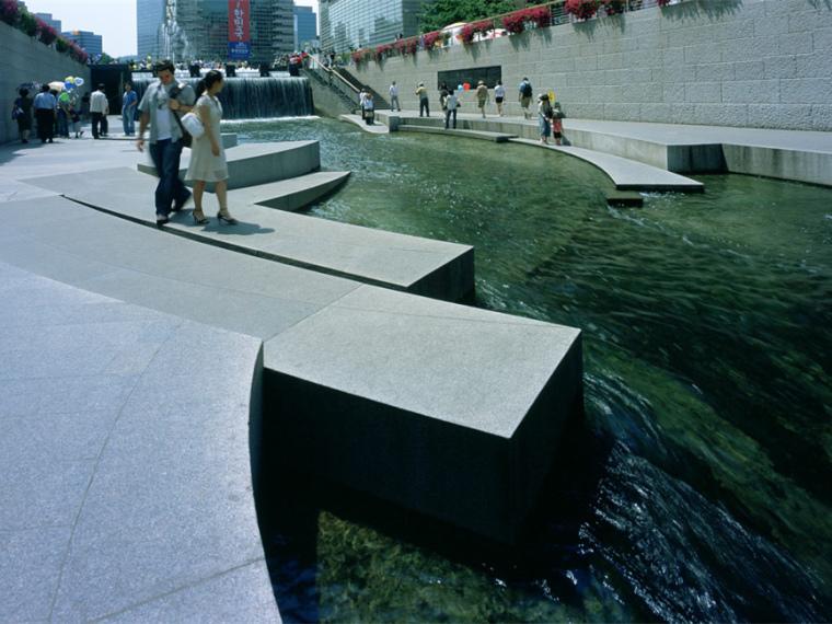 韩国ChonGae运河修复工程_1