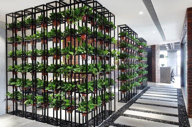 北京自然与设计的融合的办公室-5