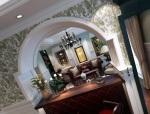 美国乡村别墅设计方案(效果图、施工图及室内软装方案)