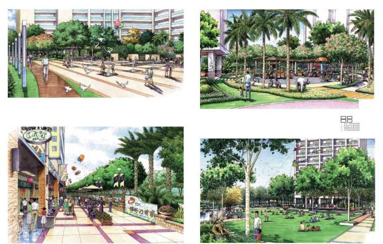手绘景观方案与细部设计(中文版+PDF+161页)-广西南宁——知名地产·21世家
