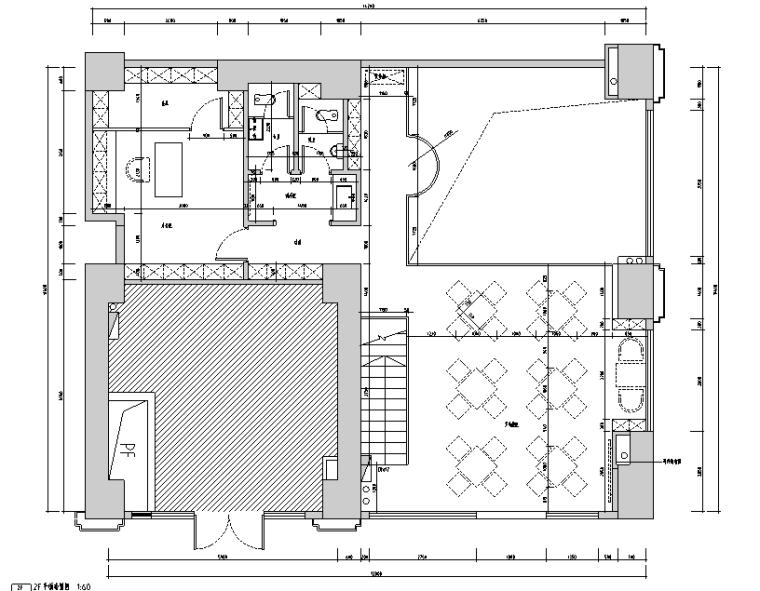 深圳217咖啡店设计施工图(附效果图)