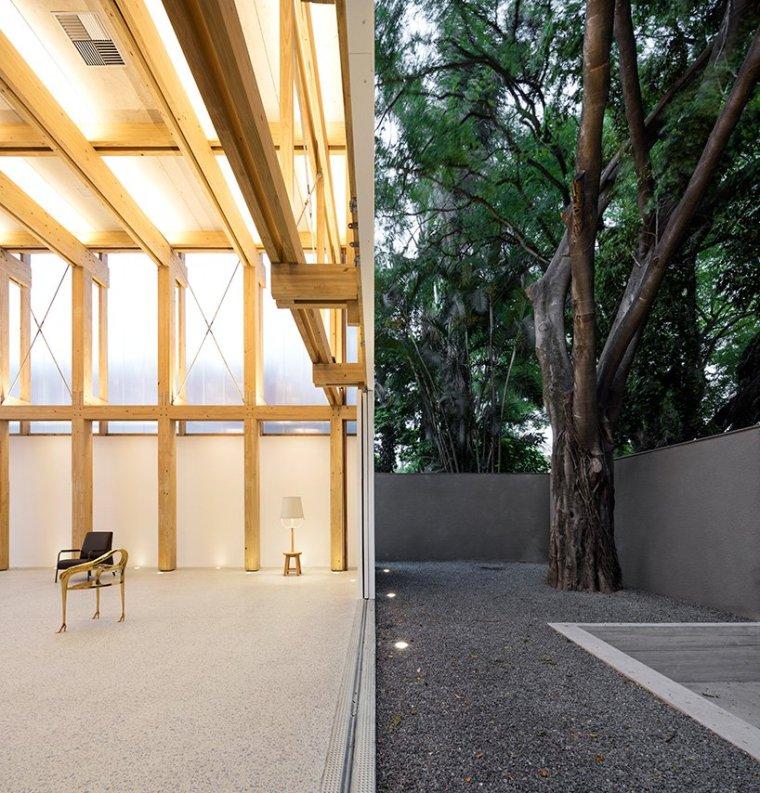 巴西木结构多功能展馆-3