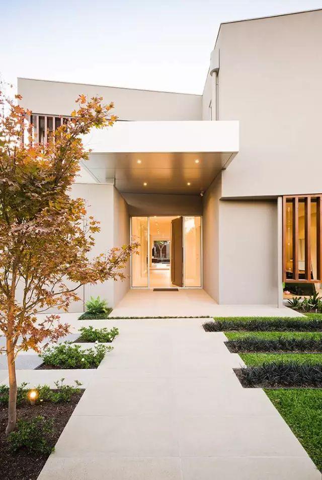 赶紧收藏!21个最美现代风格庭院设计案例_169