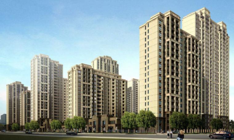 [上海]居住区项目管控建筑设计方案文本