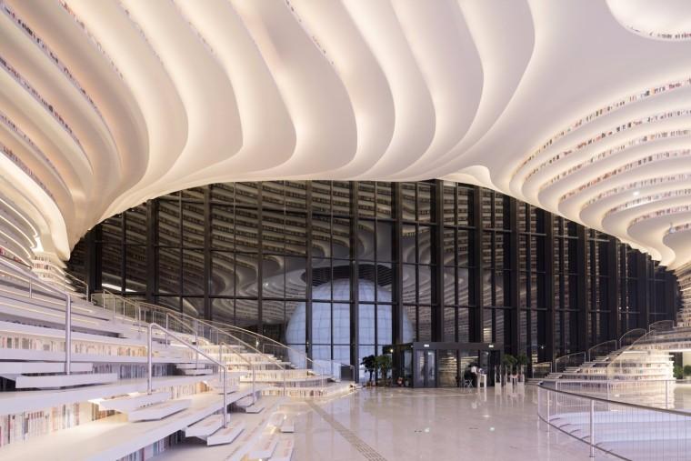 津滨海图书馆 / MVRDV + 天津城市规划设计院
