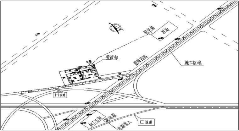 [河南]互通立交主线桥东侧桥梁及H匝道投标施工组织设计