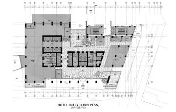 [重庆]超全绿色生态主题酒店室内设计方案(施工图+效果图+物料表
